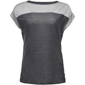 Black Diamond Cottonwood - Camiseta manga corta Mujer - gris